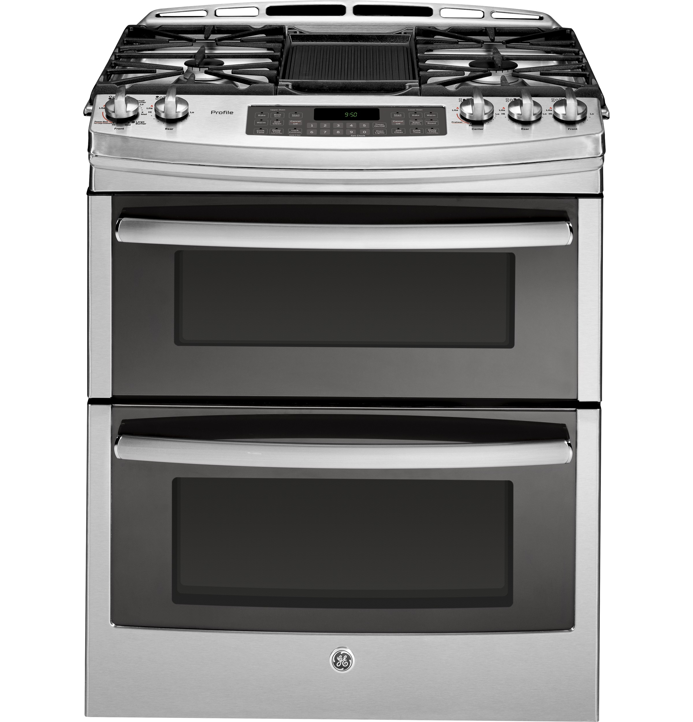 Ge Profile Series 30 Slide In Front Control Double Oven Gas Range Baking Wiring Diagram Product Image