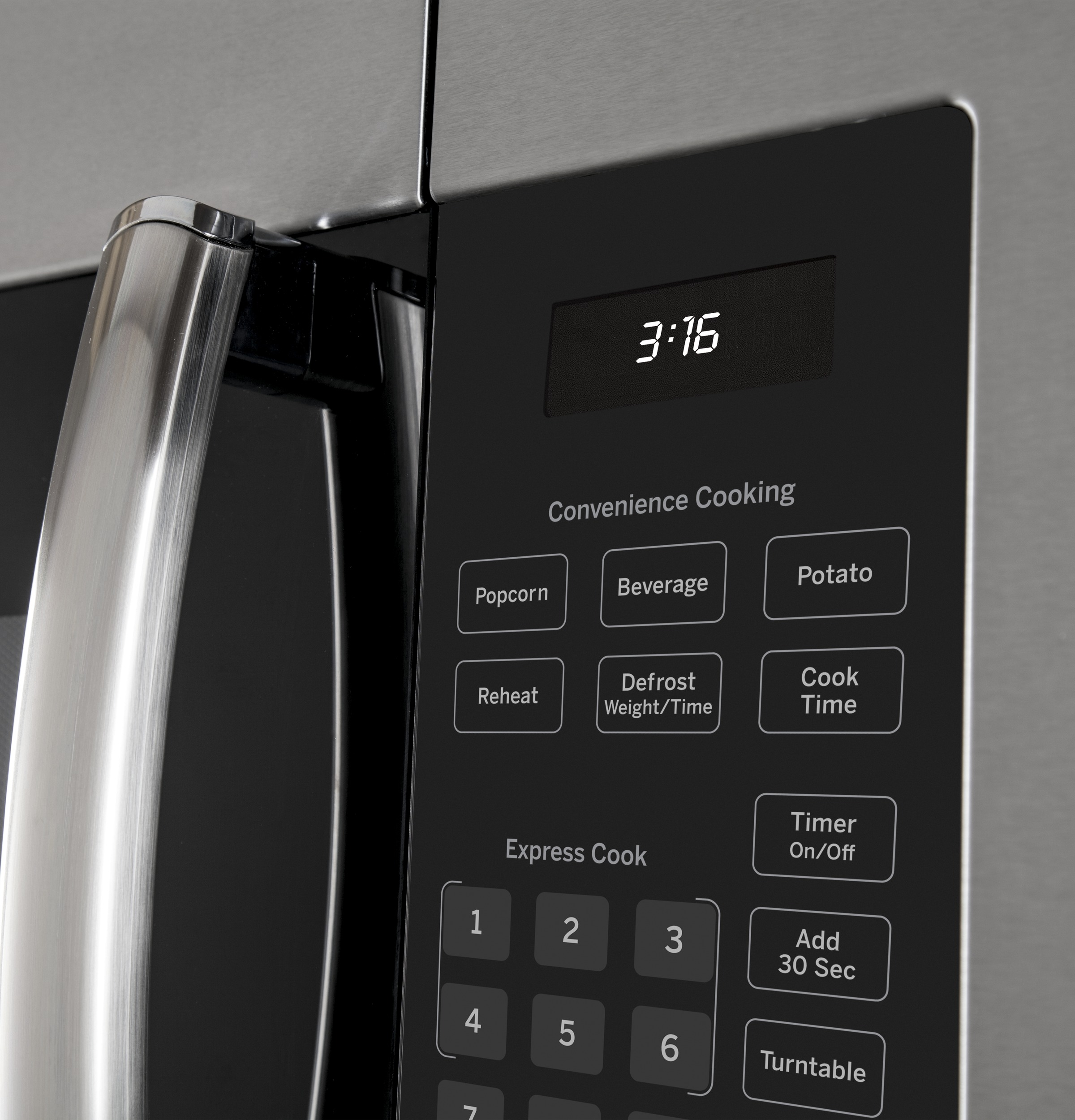 GE® 1 6 Cu  Ft  Over-the-Range Microwave Oven with