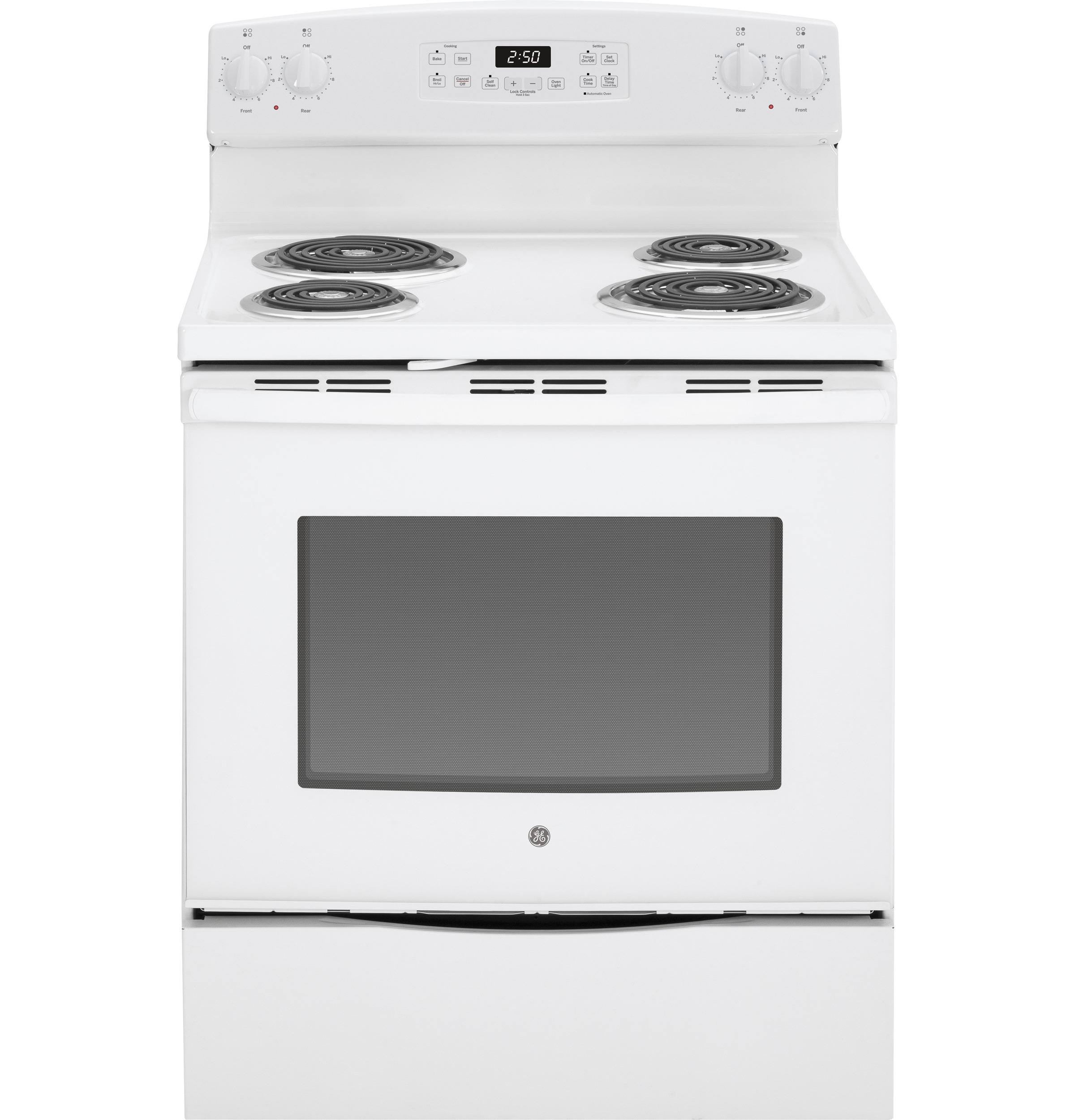 General Electric Stoves ~ Ge quot free standing electric range jb dfww