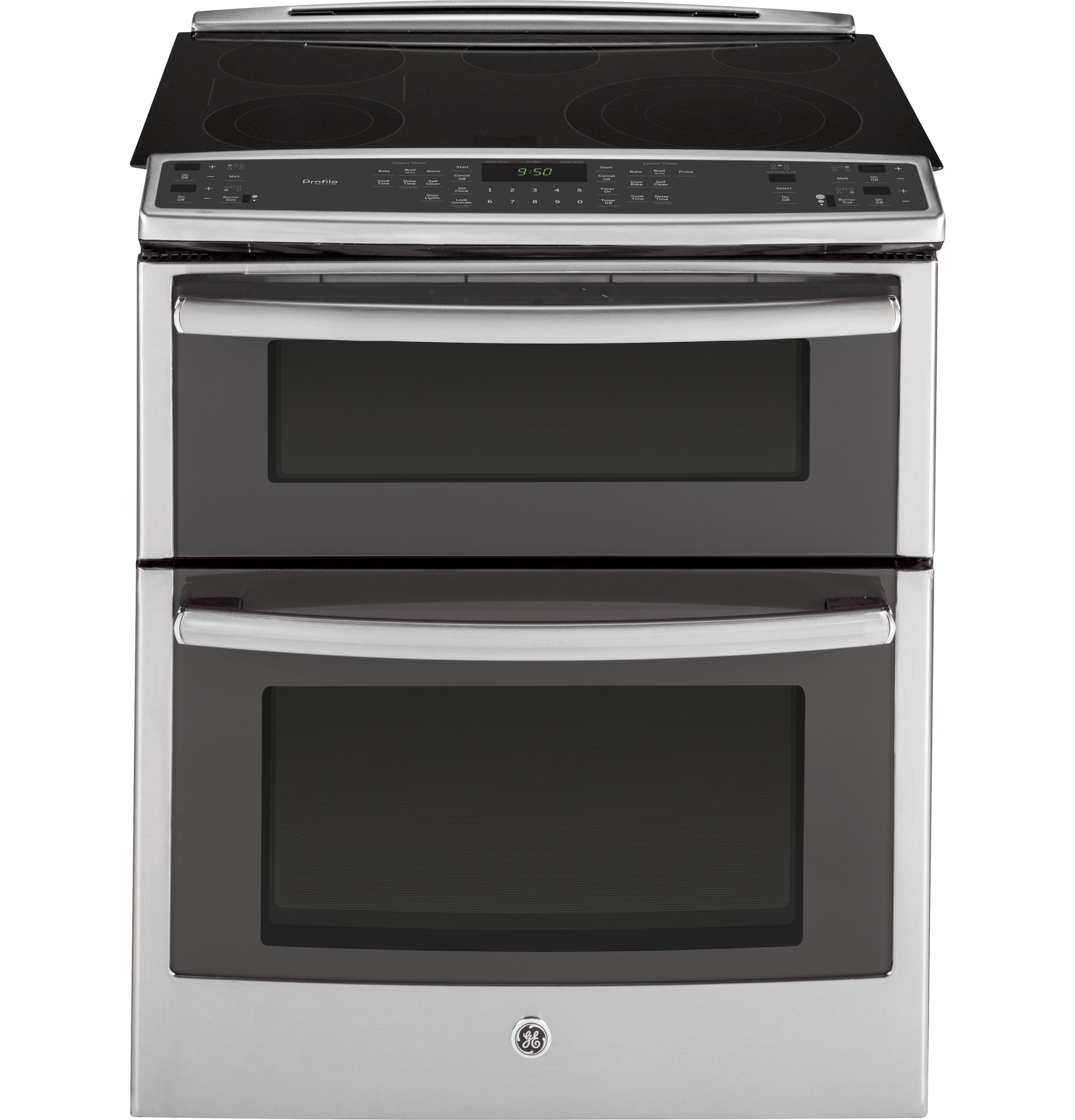 ge profile series 30 slide in double oven electric convection