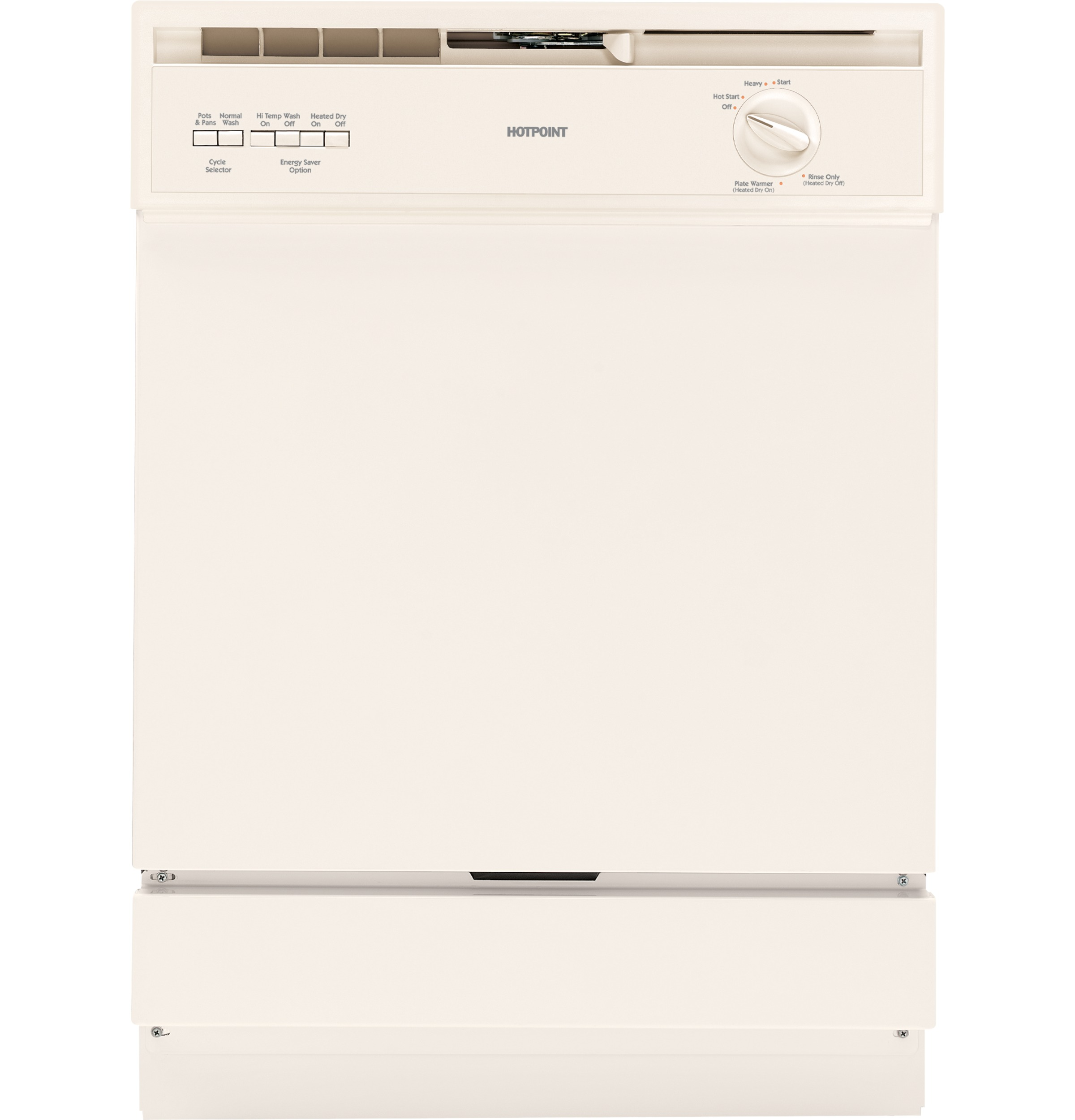 Hotpoint 174 Built In Dishwasher Hda3600dcc Ge Appliances