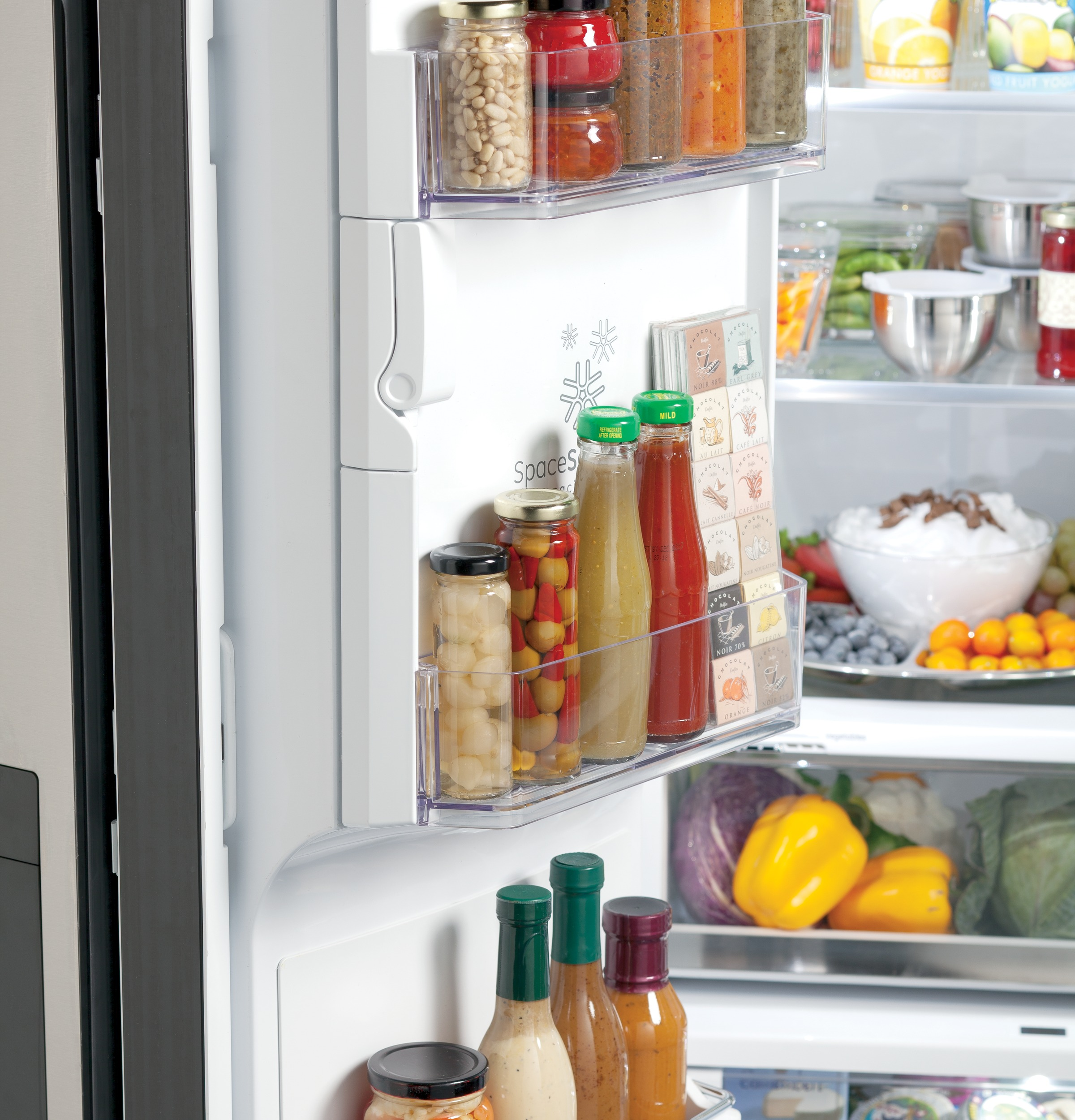 Ge caf series energy star 278 cu ft french door refrigerator product image rubansaba