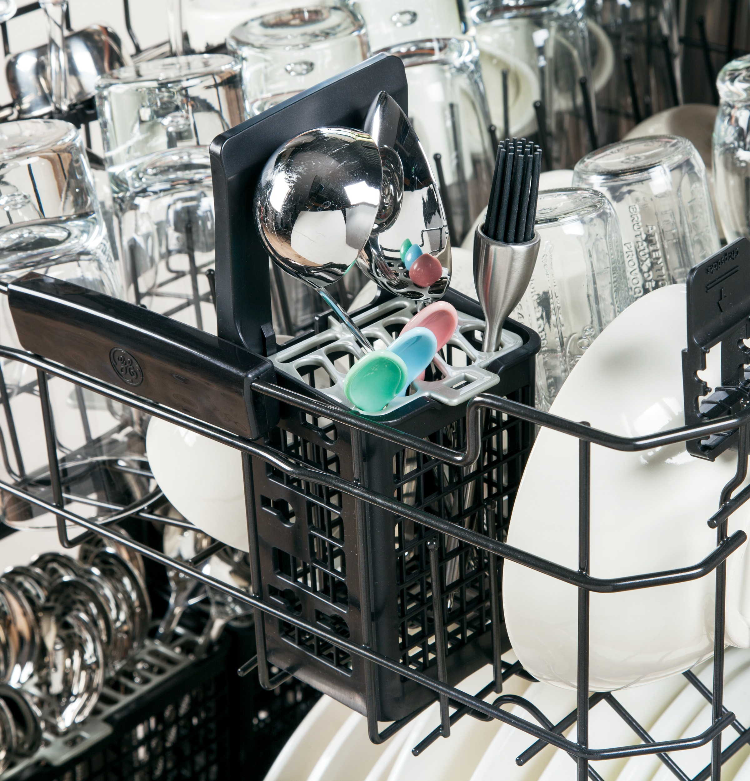 Ge Stainless Steel Interior Dishwasher With Hidden Controls Candy Washing Machine Wiring Diagram Product Image