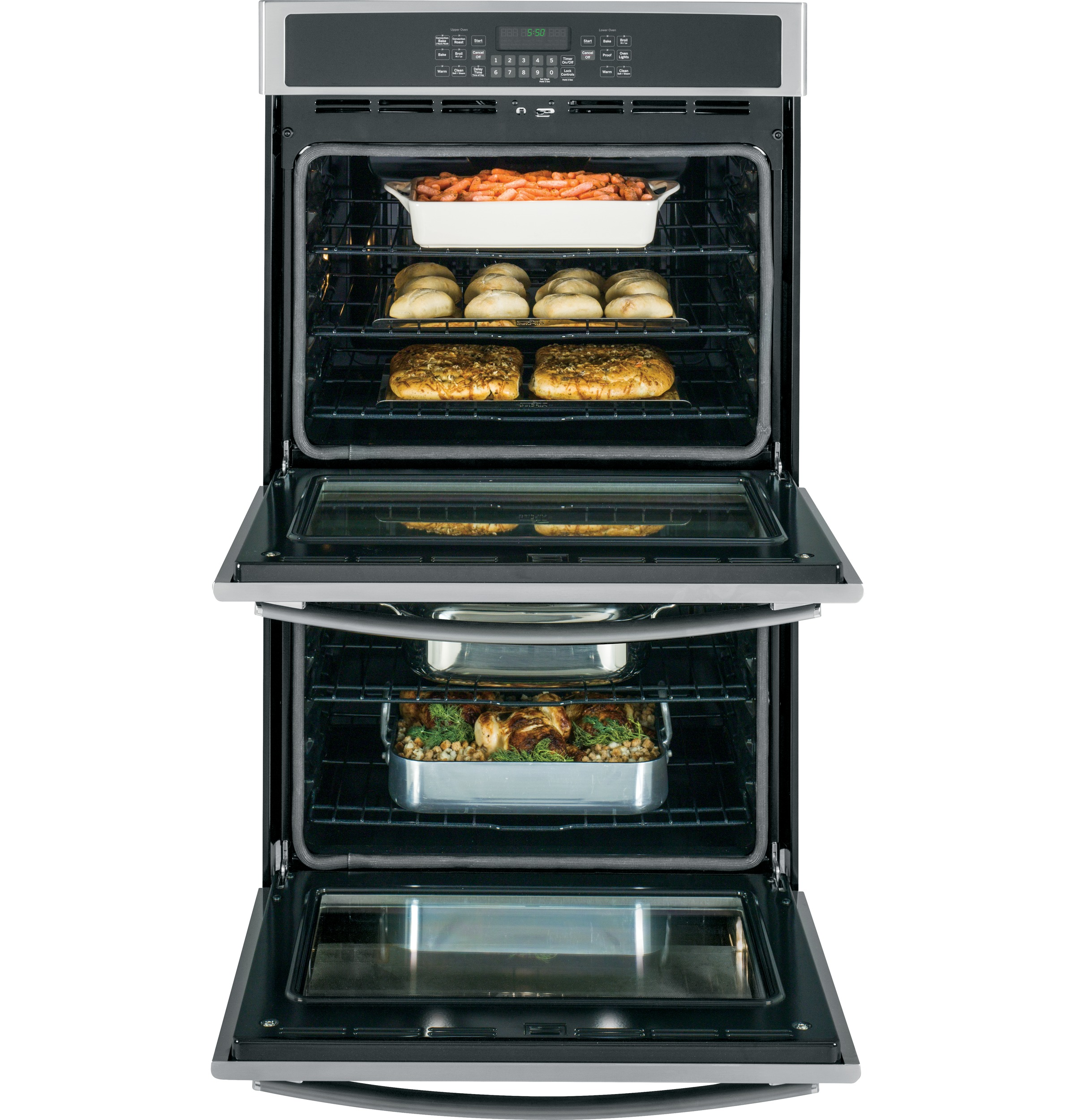 Ge 30 Built In Double Wall Oven With Convection Jt5500sfss Wiring Product Image