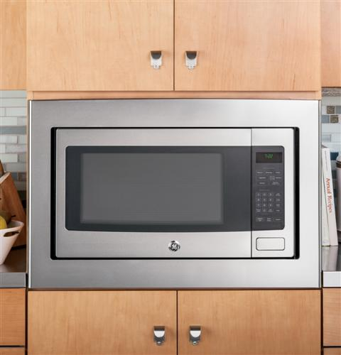 Kenmore Countertop Microwave With Trim Kit : GE Profile? Series 2.2 Cu. Ft. Countertop Microwave Oven ...