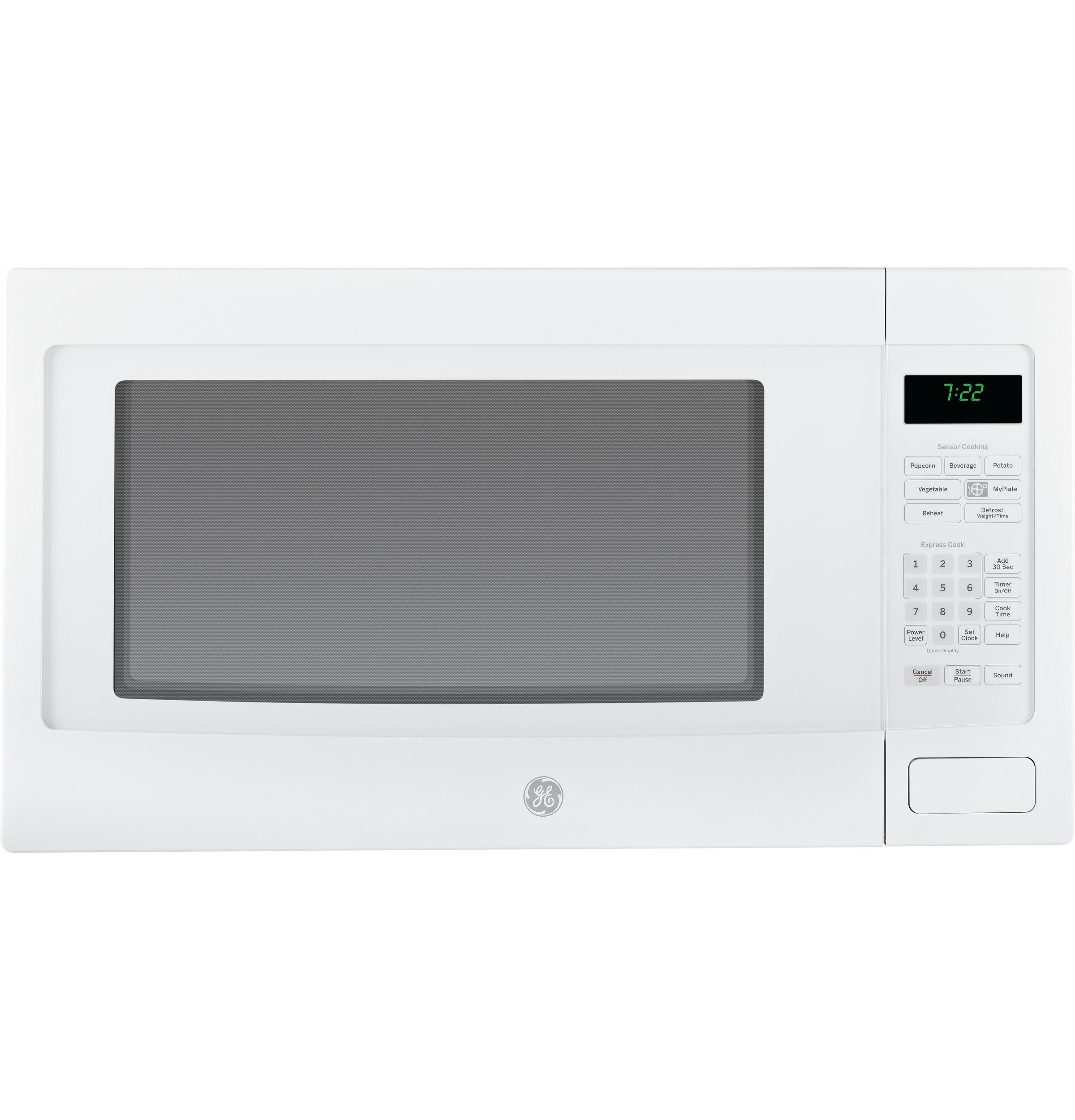 ... Cu. Ft. Countertop Microwave Oven PEB7226DFWW GE Appliances