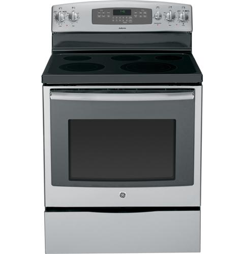 Adora Series By Ge 30 Free Standing Electric Convection Range Jb745sfss Liances