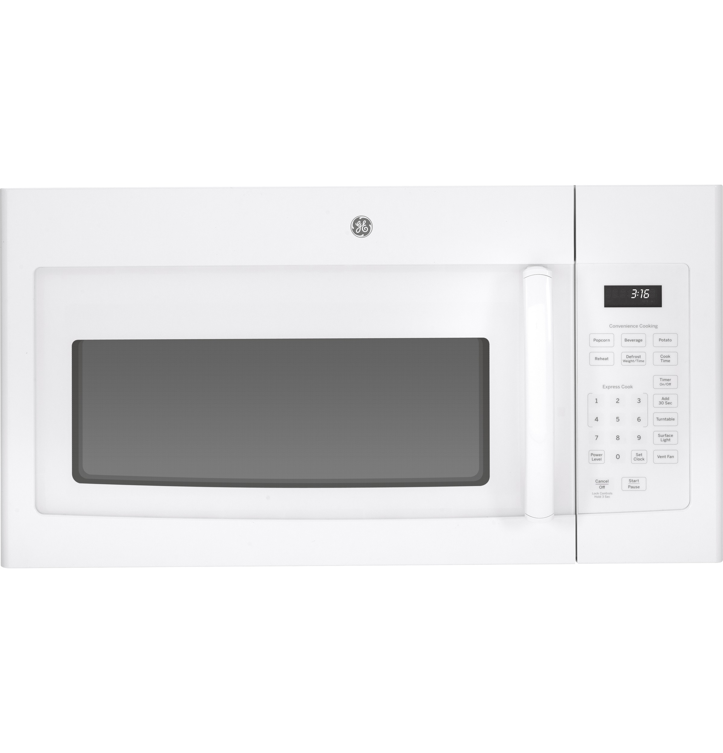 Ge 16 Cu Ft Over The Range Microwave Oven Jvm3160dfww Spacemaker Replacement Parts Motor Repalcement And Diagram Product Image