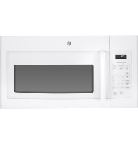 GE® 1.6 Cu. Ft. Over-the-Range Microwave Oven– Model #: JVM3160DFWW