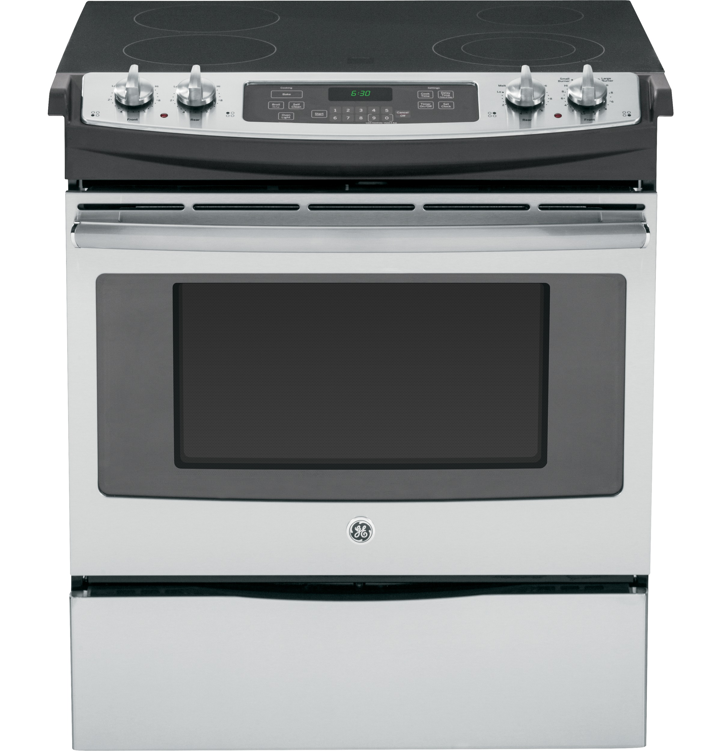 Ge 174 30 Quot Slide In Front Control Electric Range Js630sfss
