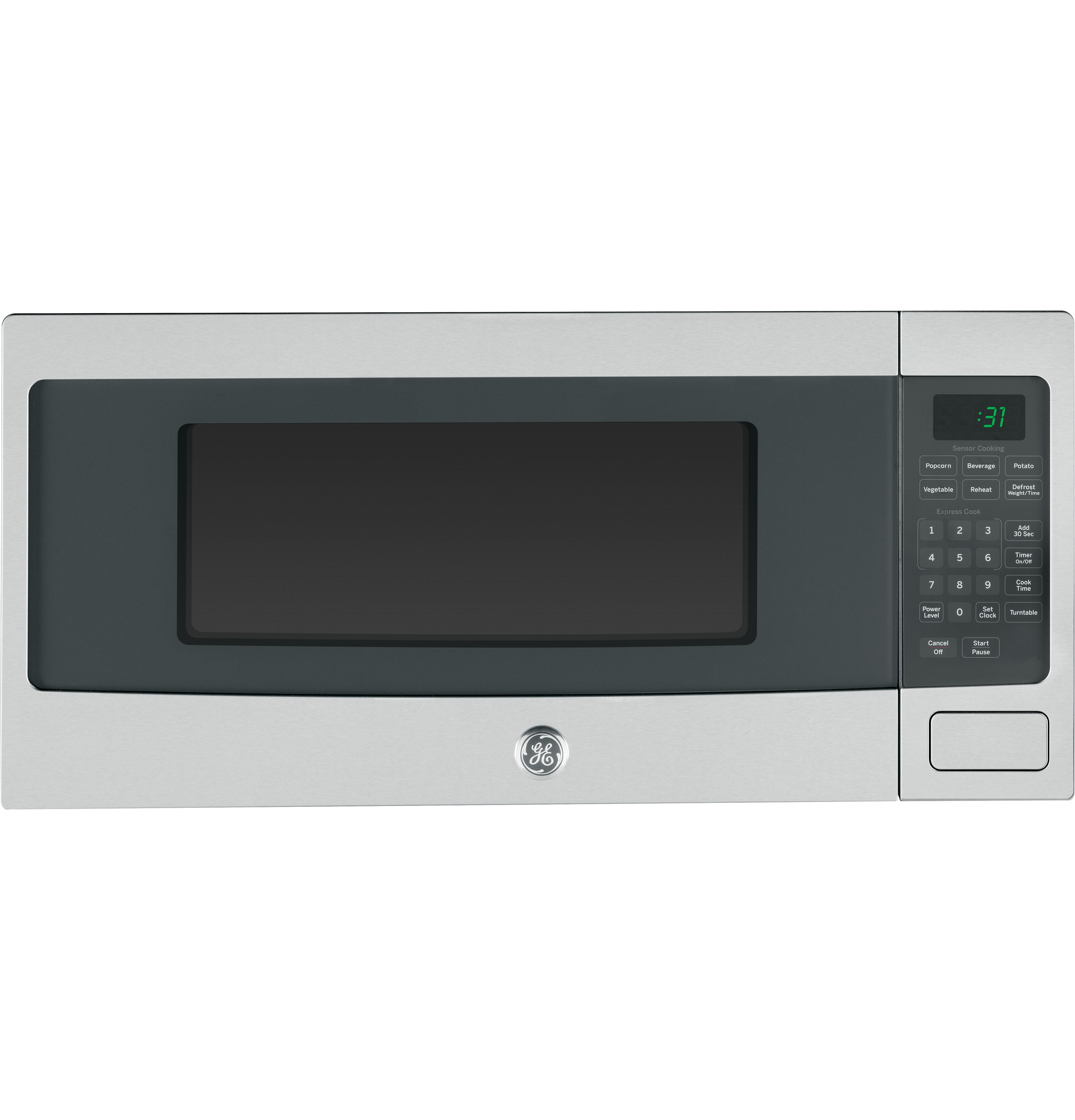 Can Countertop Microwave Be Built In : ... Cu. Ft. Countertop Microwave Oven PEM31SFSS GE Appliances
