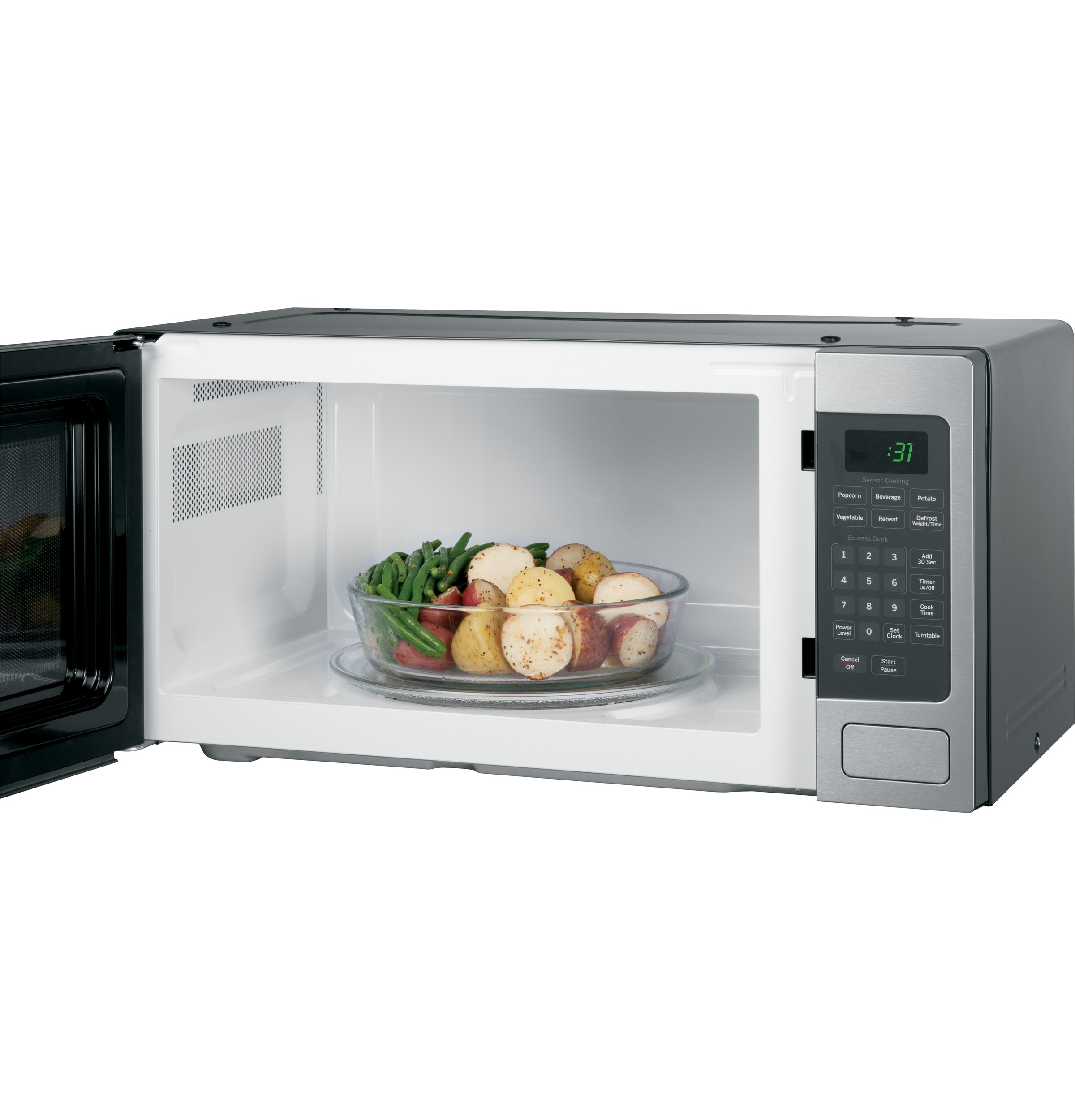 GE Profile™ Series 1.1 Cu. Ft. Countertop Microwave Oven | PEM31SFSS ...