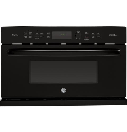 GE Profile™ Series 30 in. Single Wall Oven with Advantium® Technology– Model #: PSB9120DFBB