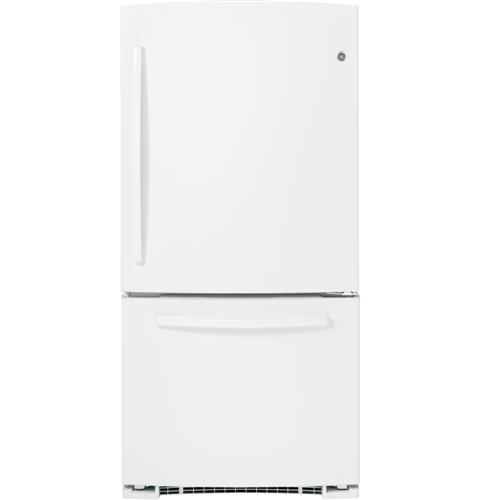 GE® 23.1 Cu. Ft. Bottom-Freezer Refrigerator