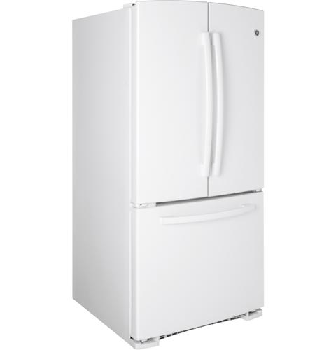 Ge 227 Cu Ft French Door Refrigerator Gns23gghww Ge Appliances