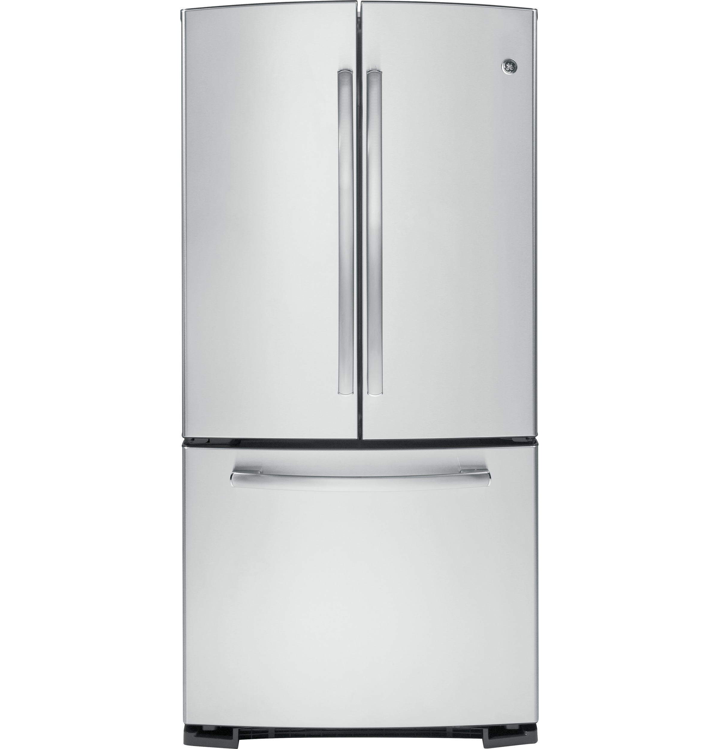 Ge 227 cu ft french door refrigerator gns23gshss ge appliances product image rubansaba