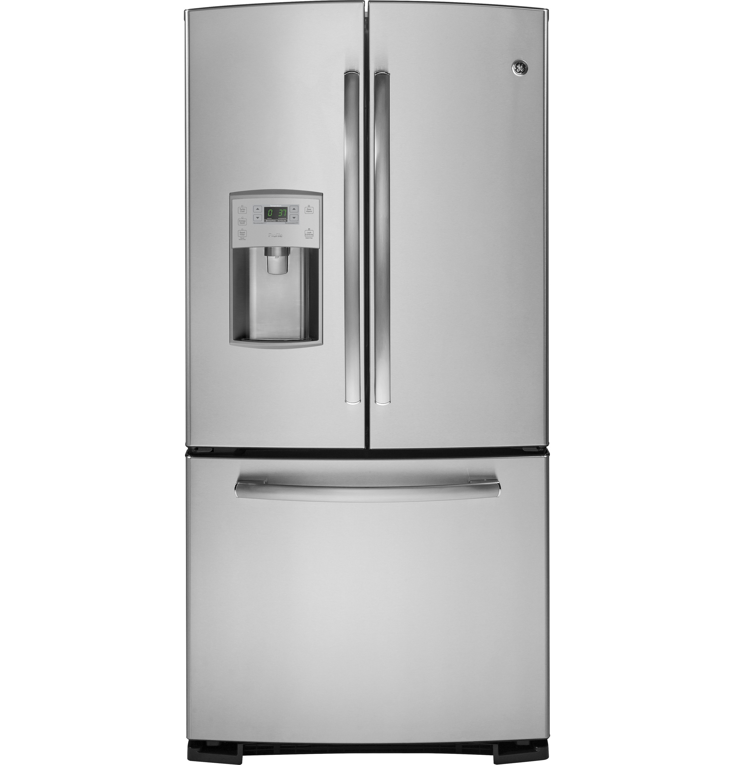 Ge Profile Series 228 Cu Ft French Door Refrigerator