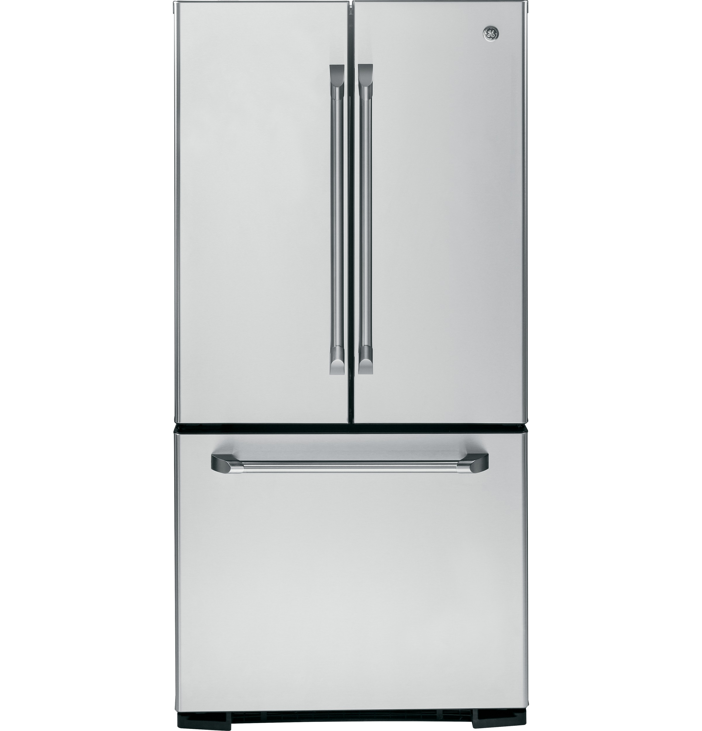 Ge caf series 227 cu ft french door refrigerator with product image rubansaba