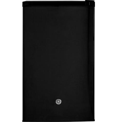 GE® Compact Refrigerator– Model #: GME04GGKBB
