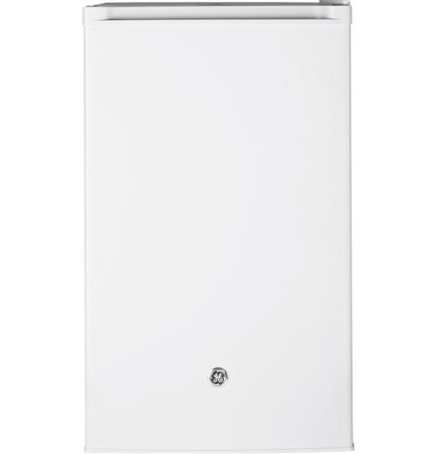 GE® Compact Refrigerator– Model #: GME04GGKWW