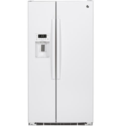 GE Profile™ Series 23.3 Cu. Ft. Counter-Depth Side-by-Side Refrigerator