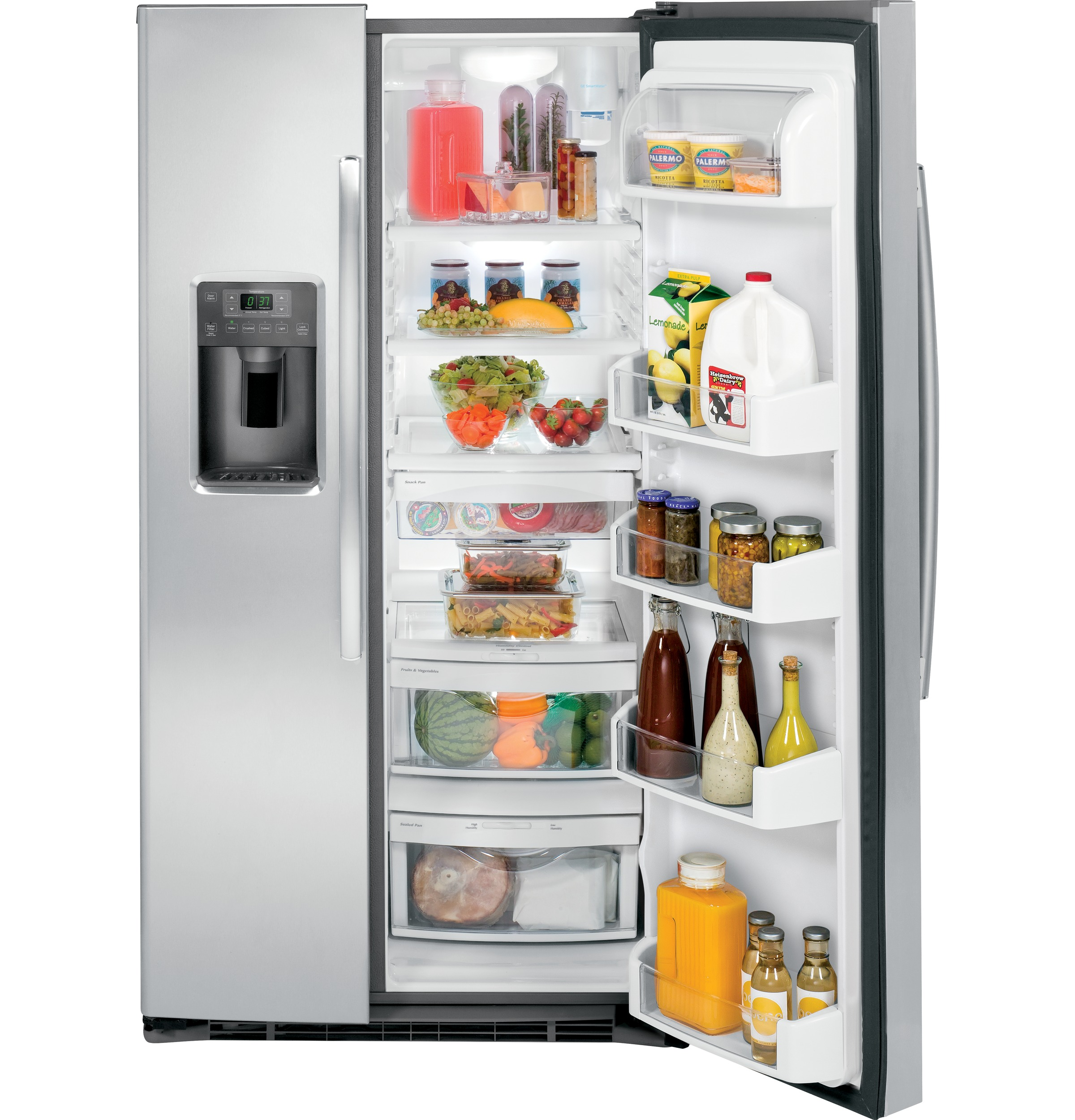 Side by side refrigerator no water dispenser - Product Image Product Image