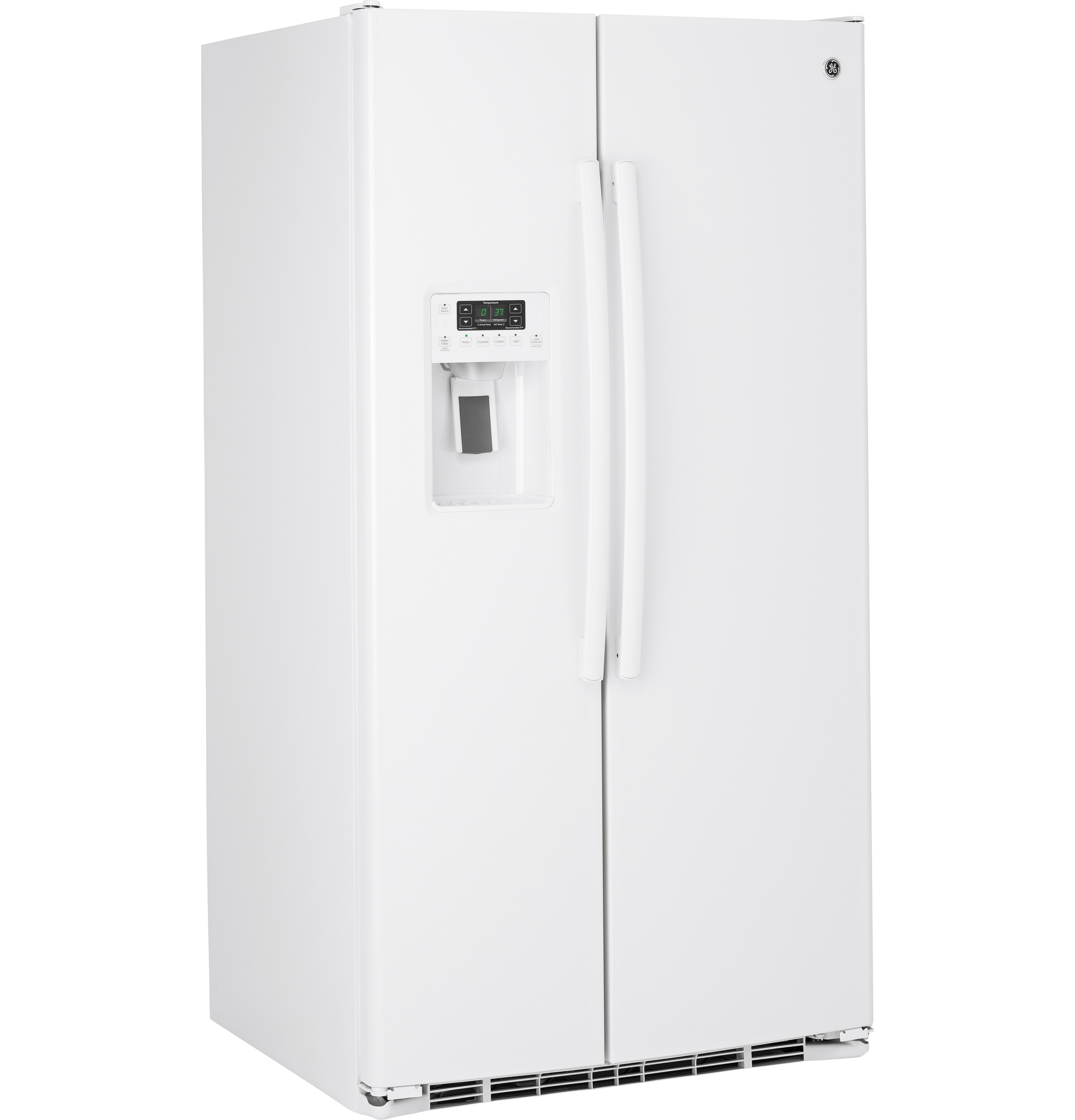 Ge 253 Cu Ft Side By Refrigerator Gss25gghww Appliances Compressor Diagram Free Download Wiring 1 Of 7