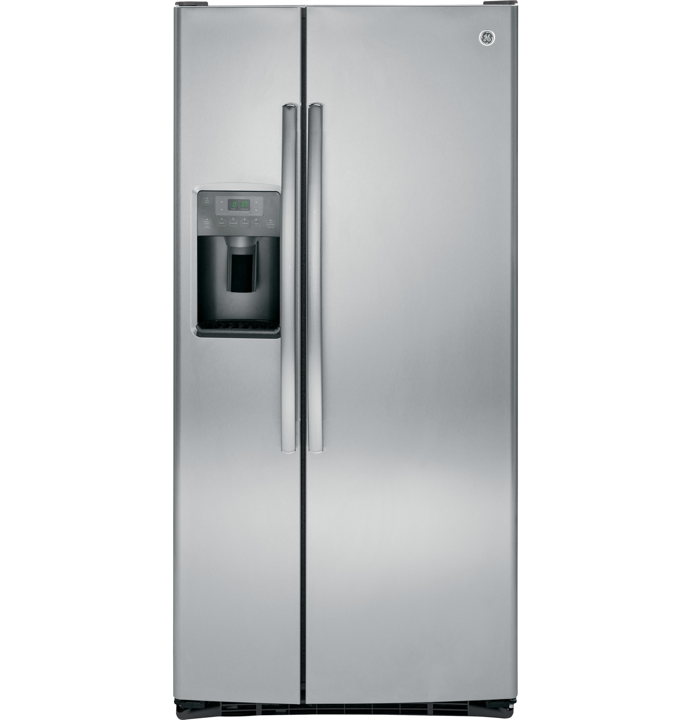 Ge 232 cu ft side by side refrigerator gss23gskss ge appliances product image publicscrutiny Gallery