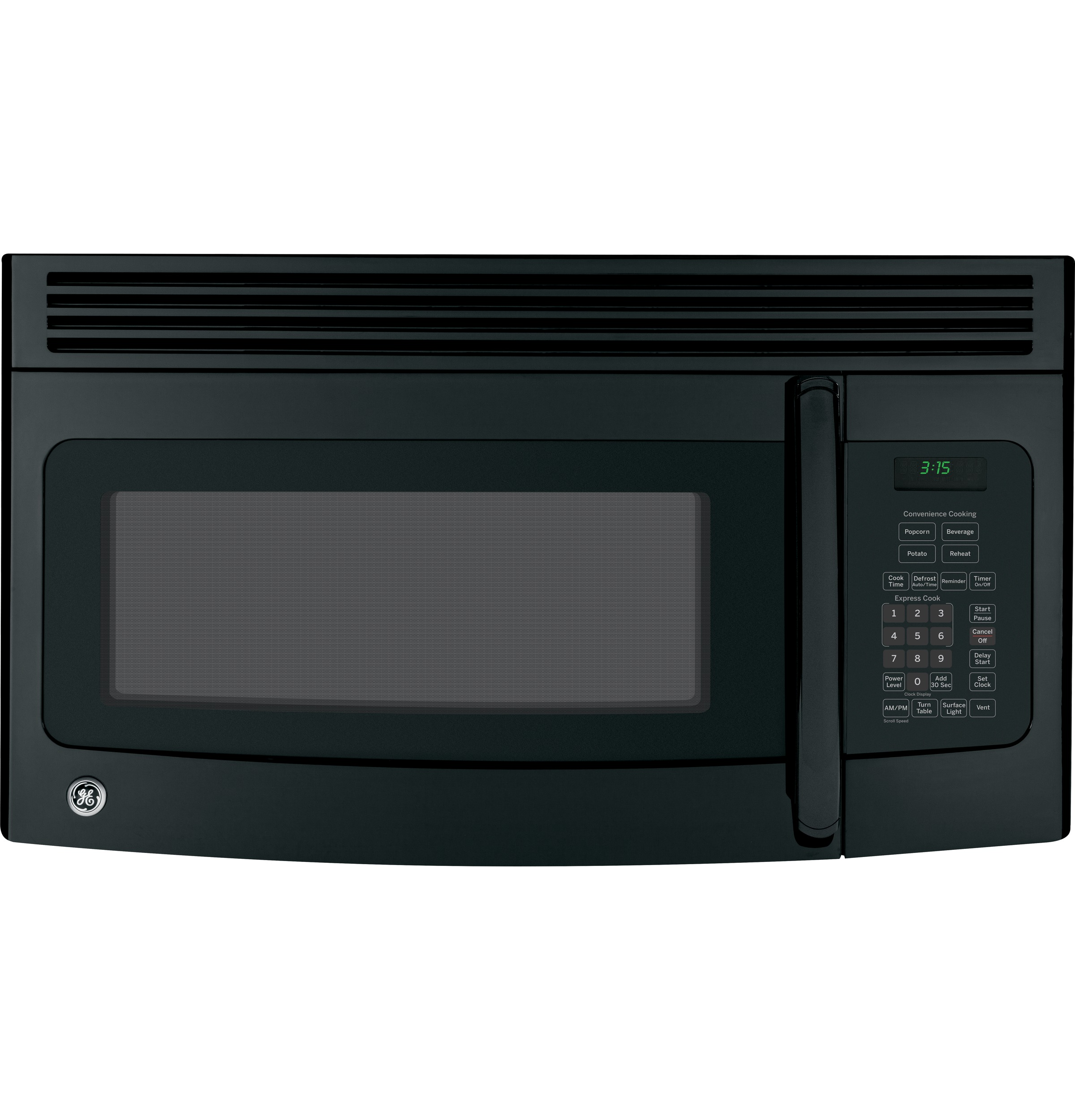 Ge 174 1 5 Cu Ft Over The Range Microwave Oven With