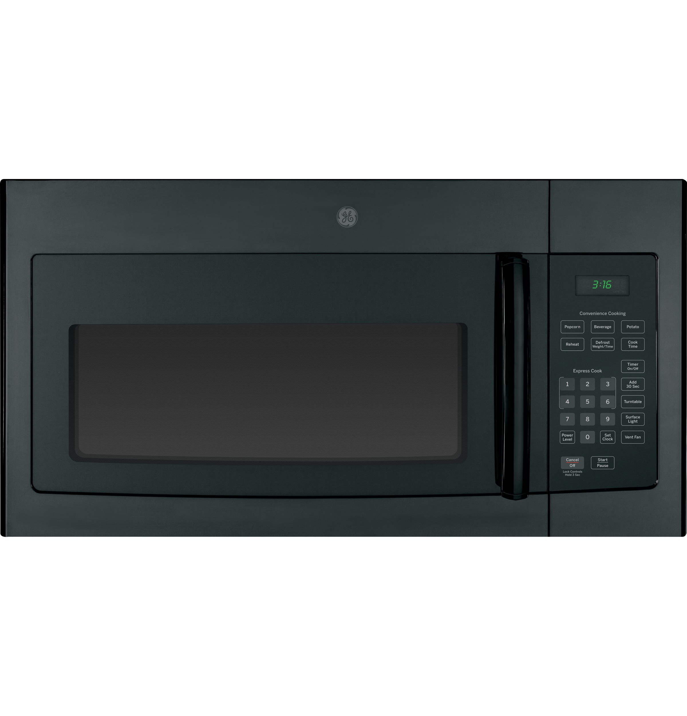 Ge 174 1 6 Cu Ft Over The Range Microwave Oven