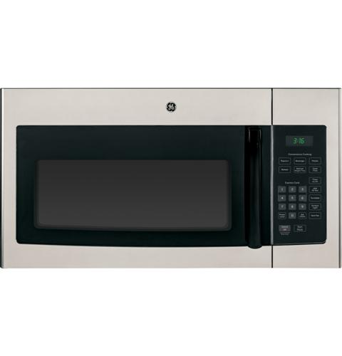 GE® 1.6 Cu. Ft. Over-the-Range Microwave Oven with Recirculating Venting– Model #: JNM3161MFSA