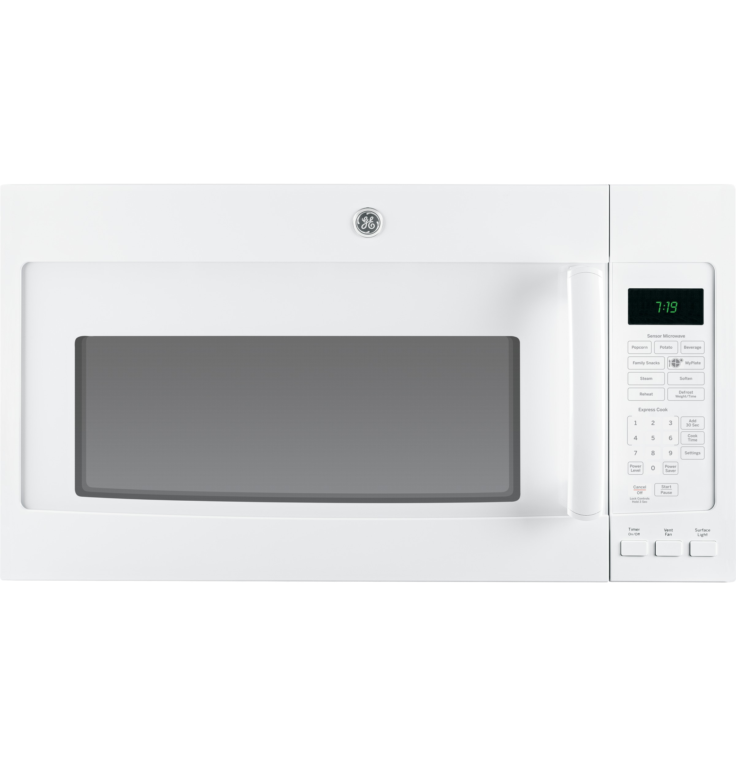 Ge Series 19 Cu Ft Over The Range Sensor Microwave Oven Rack Saver Switch Wiring Diagram Product Image