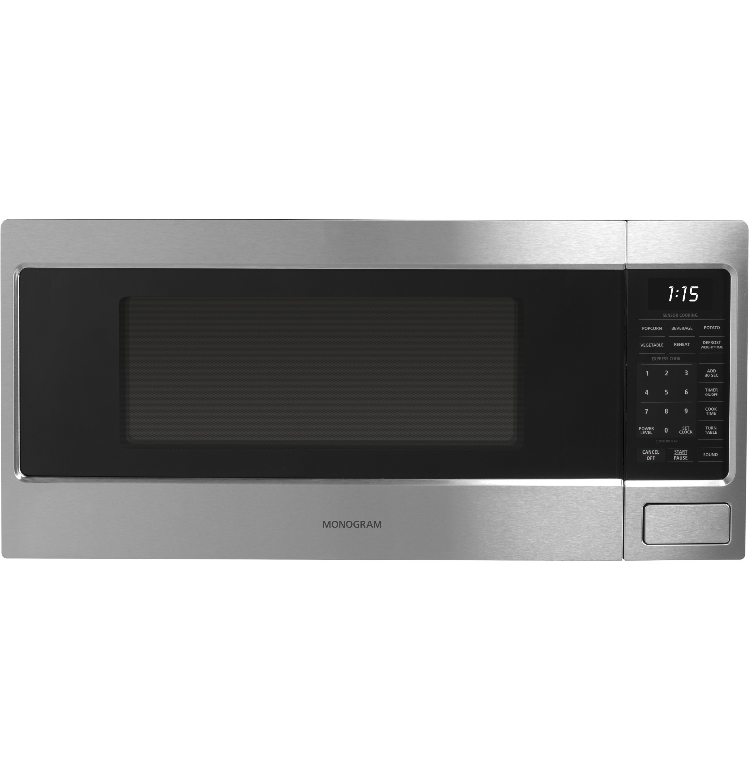 Countertop Microwave Placement : ... Cu. Ft. Countertop Microwave Oven - The Monogram Collection