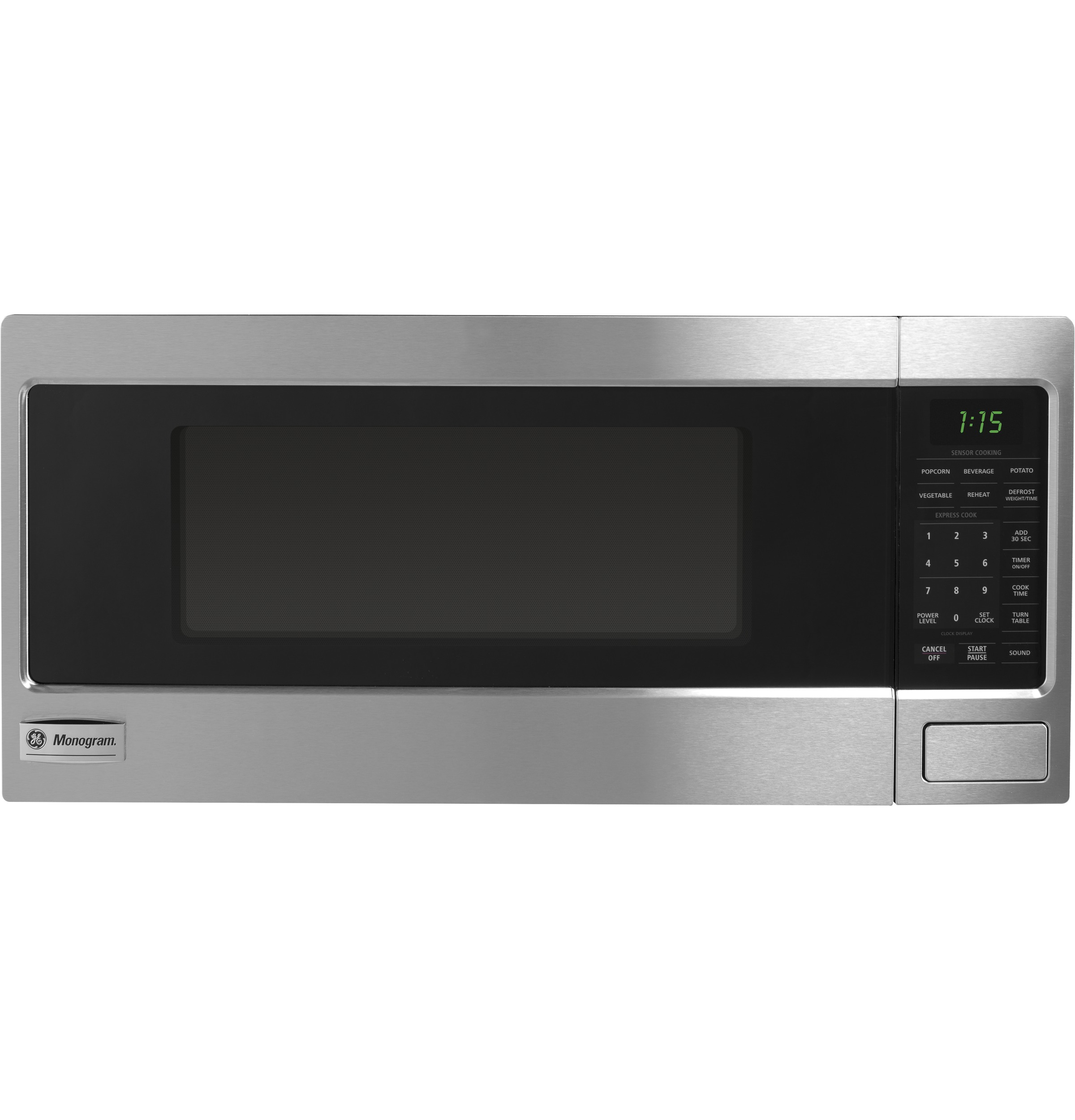 ZEM115SFSS - Monogram? 1.1 Cu. Ft. Countertop Microwave Oven - The ...