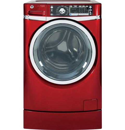 GE® ENERGY STAR® 4.8 DOE cu. ft. capacity RightHeight™ Design Front Load washer– Model #: GFWR4805FRR