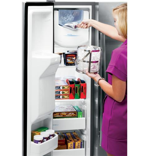 Ge 174 Energy Star 174 25 3 Cu Ft Side By Side Refrigerator