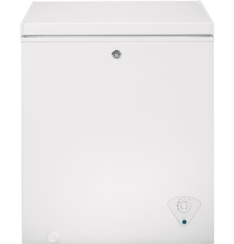 GE® 5.0 Cu. Ft. Manual Defrost Chest Freezer– Model #: FCM5SKWW