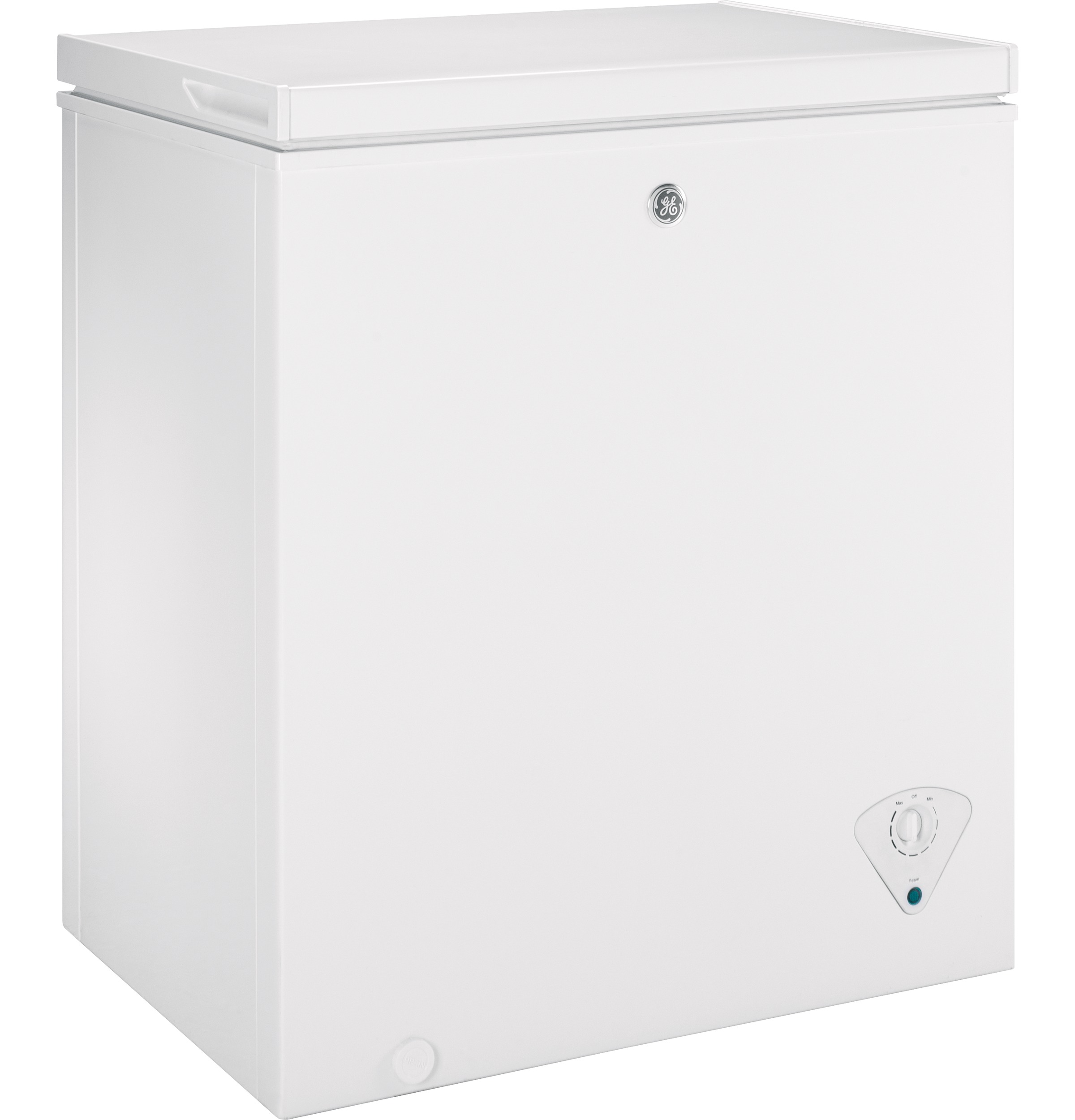 ge® 5 0 cu ft manual defrost chest zer fcm5skww ge product image product image