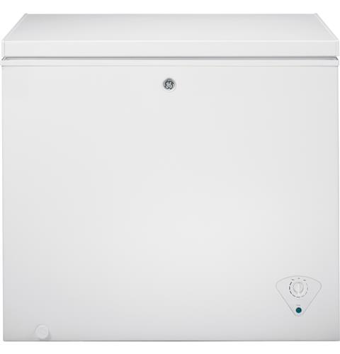GE® 7.0 Cu. Ft. Manual Defrost Chest Freezer– Model #: FCM7SKWW