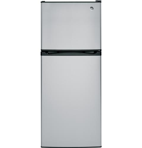 GE® ENERGY STAR® 11.6 cu. ft. Top-Freezer Refrigerator– Model #: GPE12FSKSB