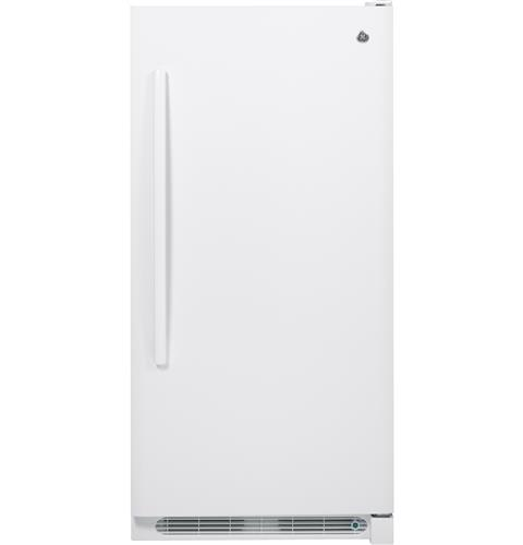 GE® 13.8 Cu. Ft. Frost-Free Upright Freezer– Model #: FUF14DHRWW