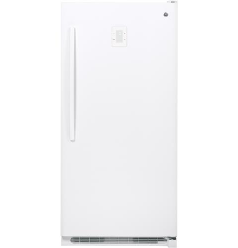 GE® 20.2 Cu. Ft. Frost-Free Upright Freezer– Model #: FUF20DHRWW