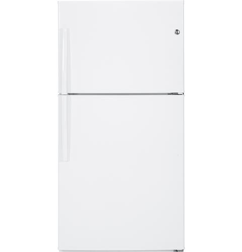 GE® ENERGY STAR® 21.2 Cu. Ft. Top-Freezer Refrigerator– Model #: GIE21GTHWW