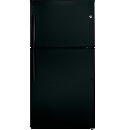 GE® ENERGY STAR® 21.2 Cu. Ft. Top-Freezer Refrigerator– Model #: GIE21GTHBB