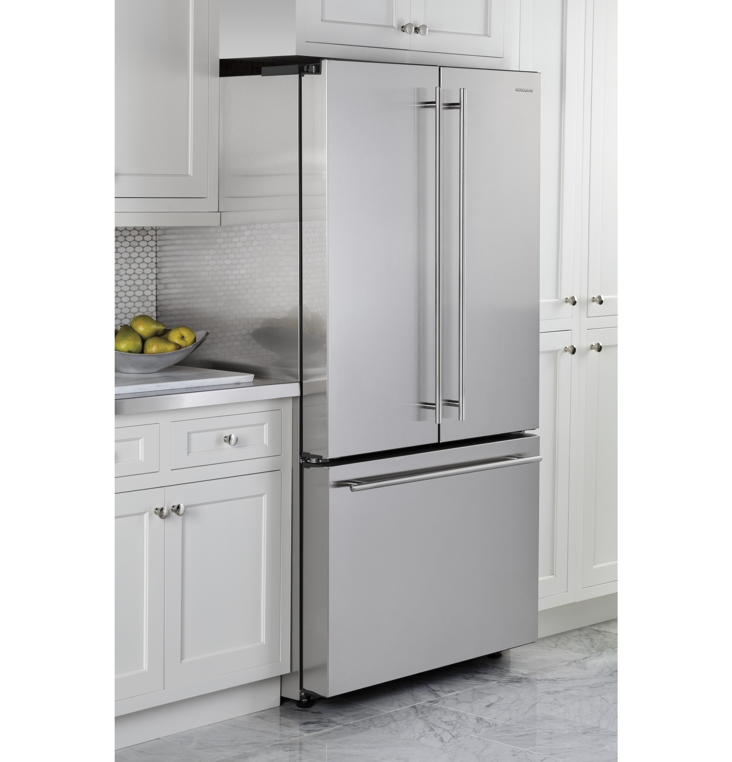 What Is The Depth Of A Counter Depth Refrigerator Monogram Energy Starar 231 Cu Ft Counter Depth French Door