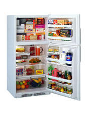 GE® 20.6 Cu. Ft. Top-Mount No-Frost Refrigerator with Automatic Icemaker