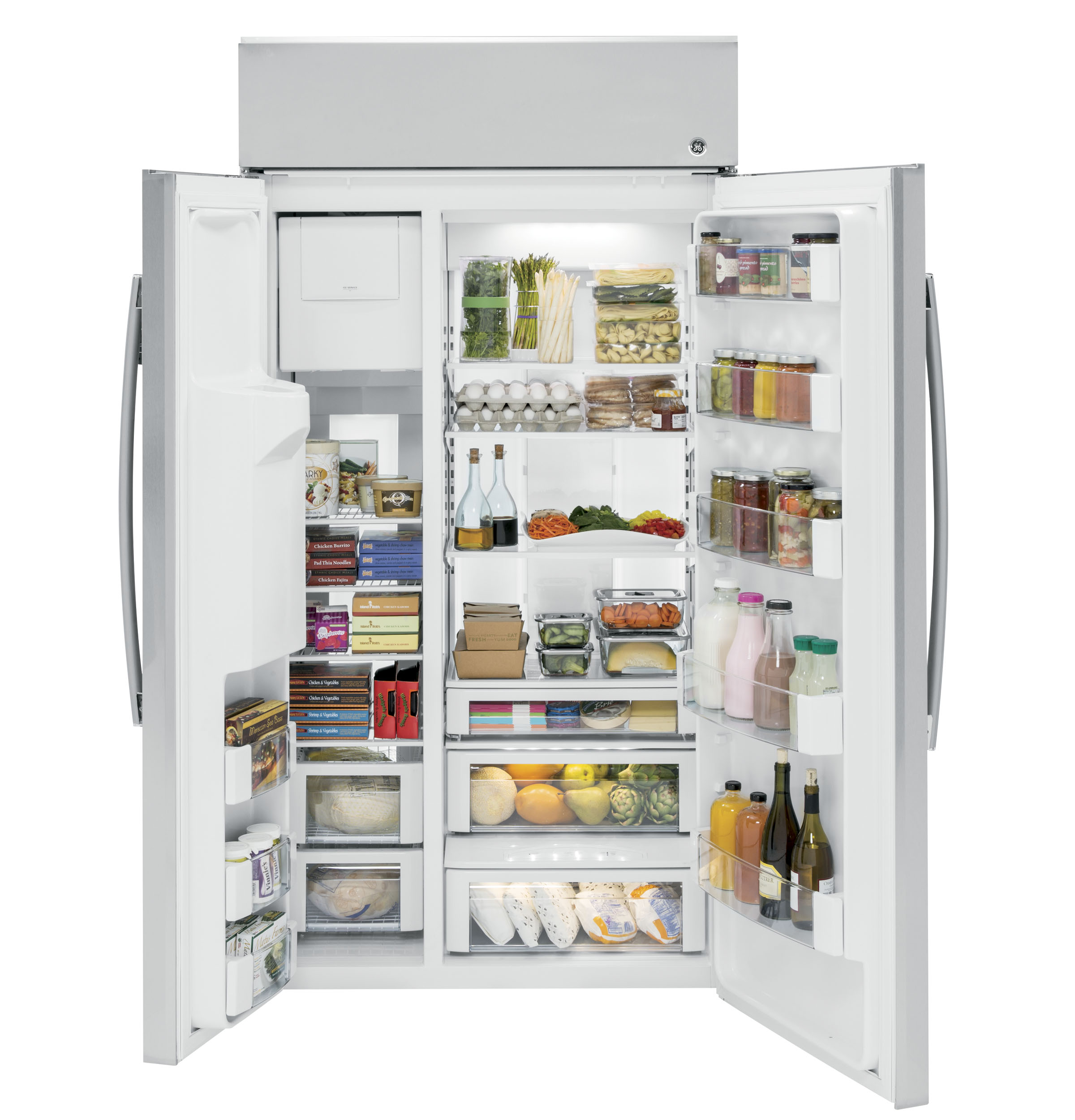 Side by side integrated fridge freezer - Product Image Product Image Product Image Product Image