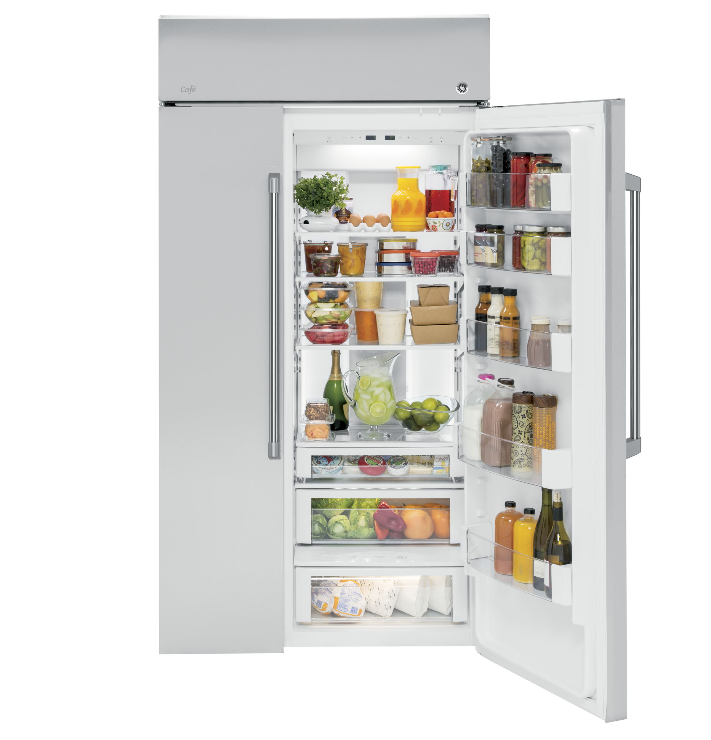Side by side integrated fridge freezer - Product Image Product Image