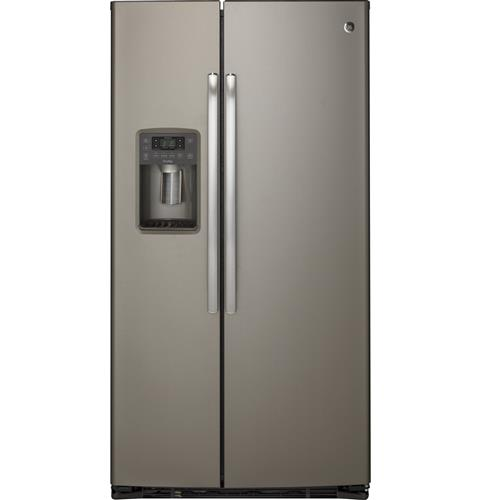 GE Profile™ Series 21.9 Cu. Ft. Counter-Depth Side-By-Side Refrigerator– Model #: PZS22MMKES