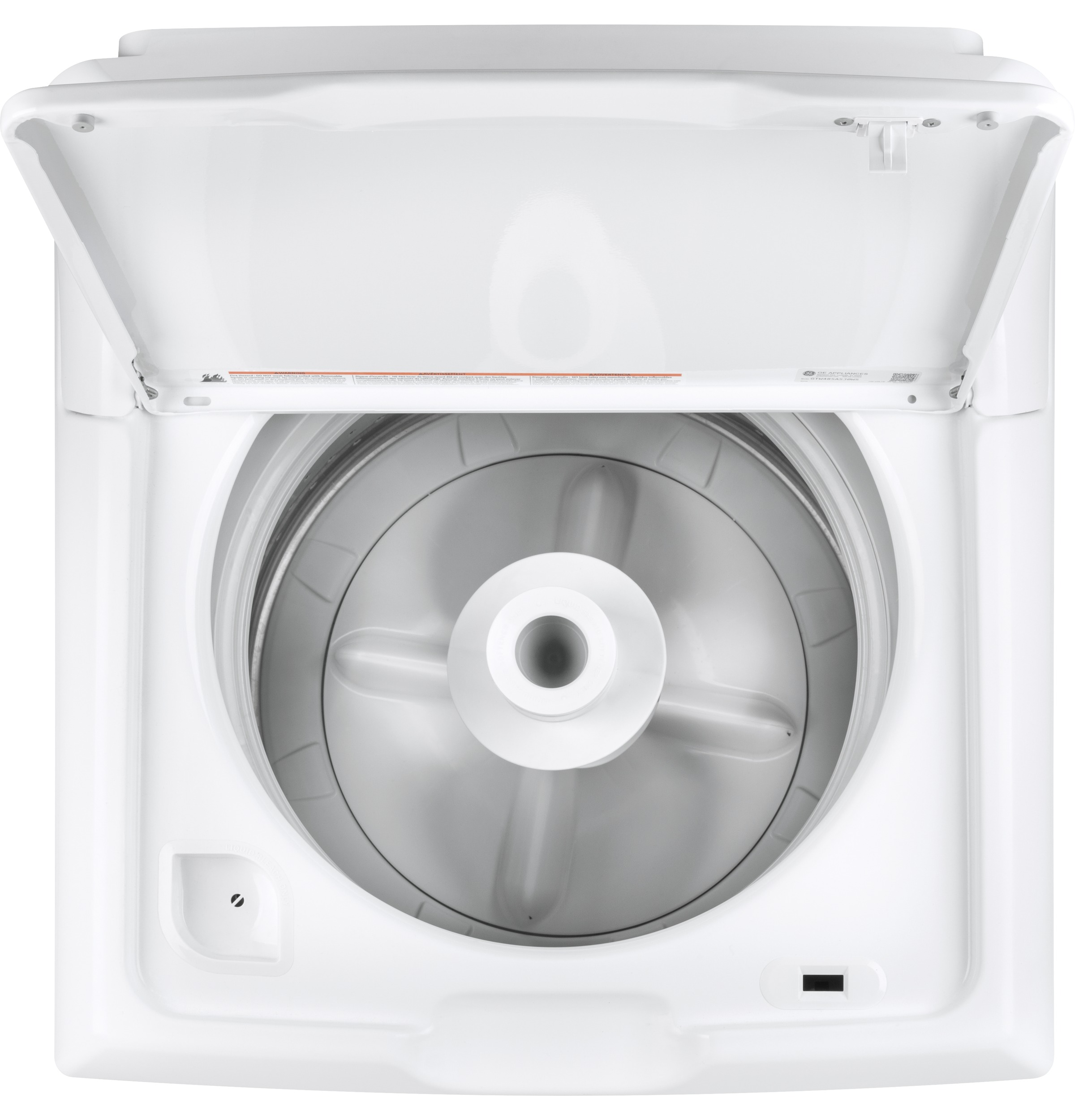 GE® 3 8 cu  ft  Capacity Washer with Stainless Steel Basket